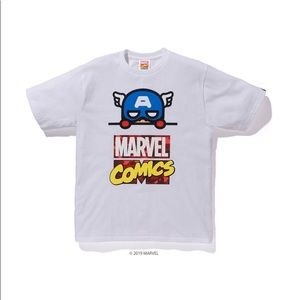 BAPE x Marvel Comics Captain America Tee
